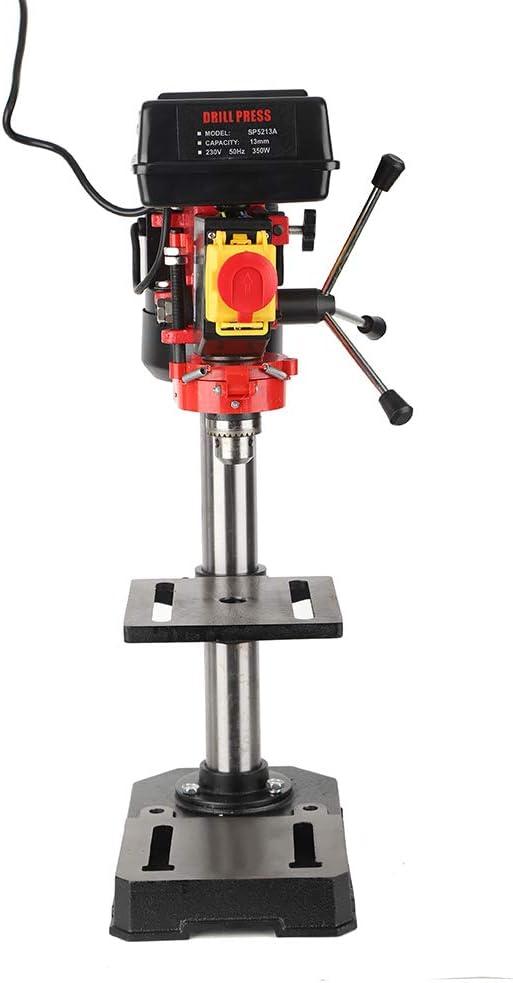 350W 50mm Bench Drill Press Stand Workbench US Plug 110V Mini 5 Speed Drill Press