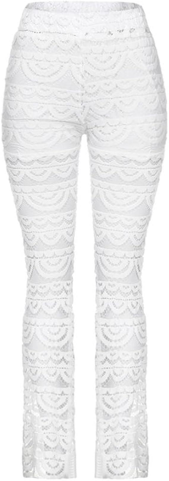 ترديد ضجة واحه Negro Paolian Pantalones De Mujer Verano 2018 Pantalones De Vestir Encaje Palazzo Cintura Alta Pantalones Perspectiva Analogdevelopment Com