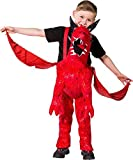 Girls Boys Step In Ride On Dragon With Wings Halloween World Book Day Week Carnival Fancy Dress Costume Outfit