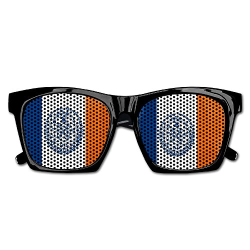 Elephant AN Themed Novelty Flag Of New York City Decoration Visual Mesh Sunglasses Fun Props Party Favors Gift - York New City Eyeglasses