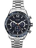 SEKONDA Unisex-Adult Chronograph Quartz Watch with Stainless Steel Strap 1226.27