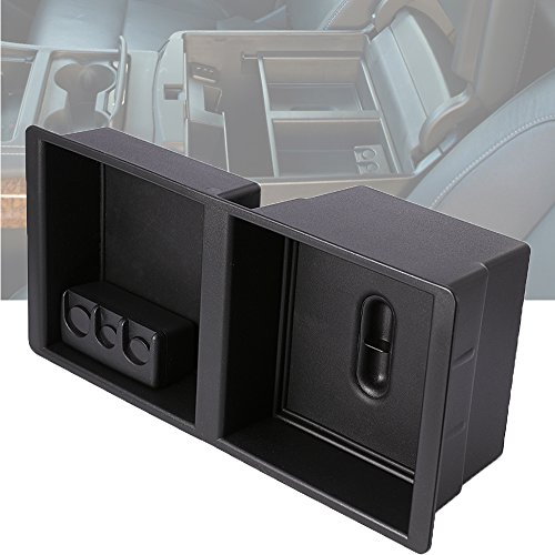 Center Console Armrest Tray Organizer Storage Box for Chevrolet Silverado 1500 2500 3500 Tahoe Suburban GMC Yukon Suburban
