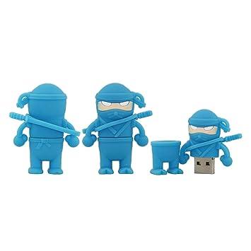 Amazon.com: 32GB Ninja Shape USB Flash Drive USB Drive USB ...