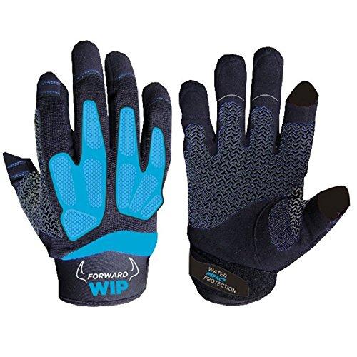 Forward Sailing WIP Impact Gloves - Blue