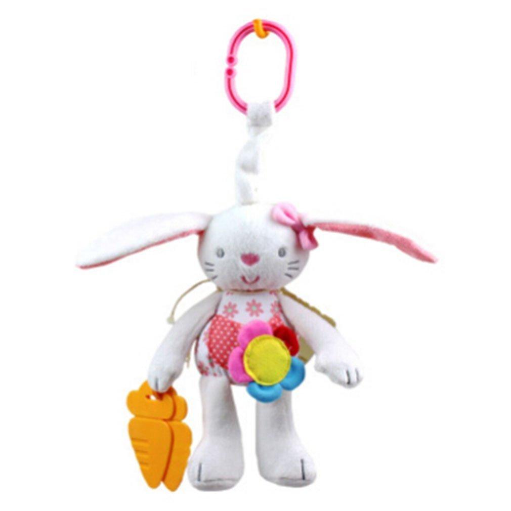 Fligatto Conejo Bebé Colgante Juguetes Cochecito Cama Espiral Actividad Cartoon Peluche