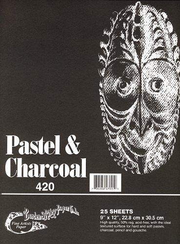 Borden & Riley Riley Riley Pastel & Charcoal Paper- schwarz 9x12 Pad B001CMMCWY  | Vollständige Spezifikation  09fd0a