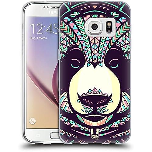Head Case Designs Panda Aztec Animal Faces 3 Soft Gel Case for Samsung Galaxy S7 Sales