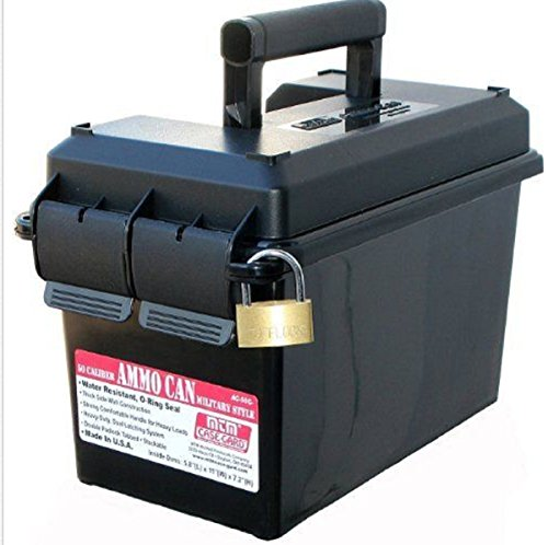 MTM 50 Heavy-duty, dual latching system for a super water-resistant seal Caliber Ammo Can