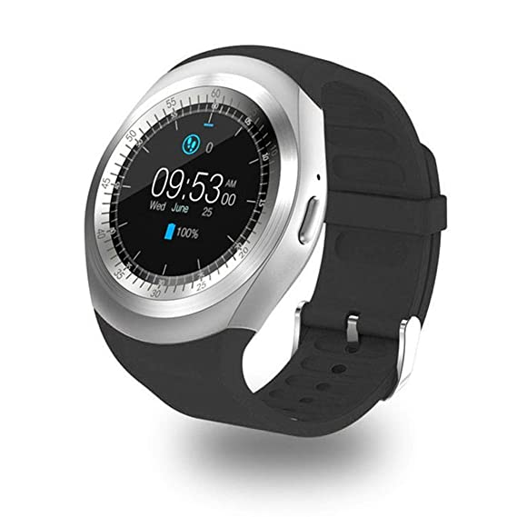 Cooshional Reloj Inteligente Deportivo con Pantalla Táctil, Smartwatch Fitness Hombre y Mujer Tracker para Android