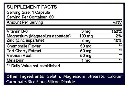 Amazon.com: Sova 7 - Sleep Support Non Groggy Recovery Melatonin Zinc Supplement: Health & Personal Care