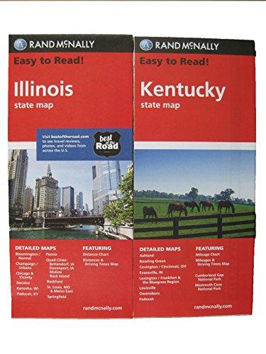 Rand Mcnally State MAPS: Kentucky And Missouri (2 Maps)