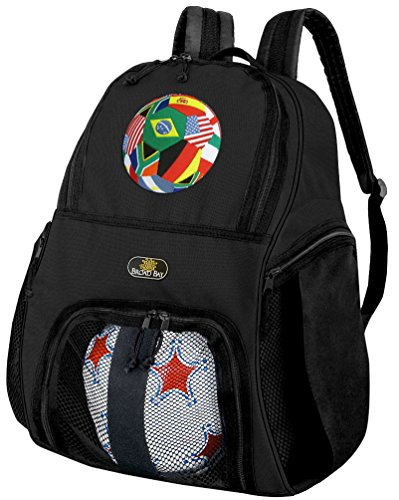 Broad Bay Soccer Soccer Backpack or World Cup Fan Volleyball Bag from Broad Bay