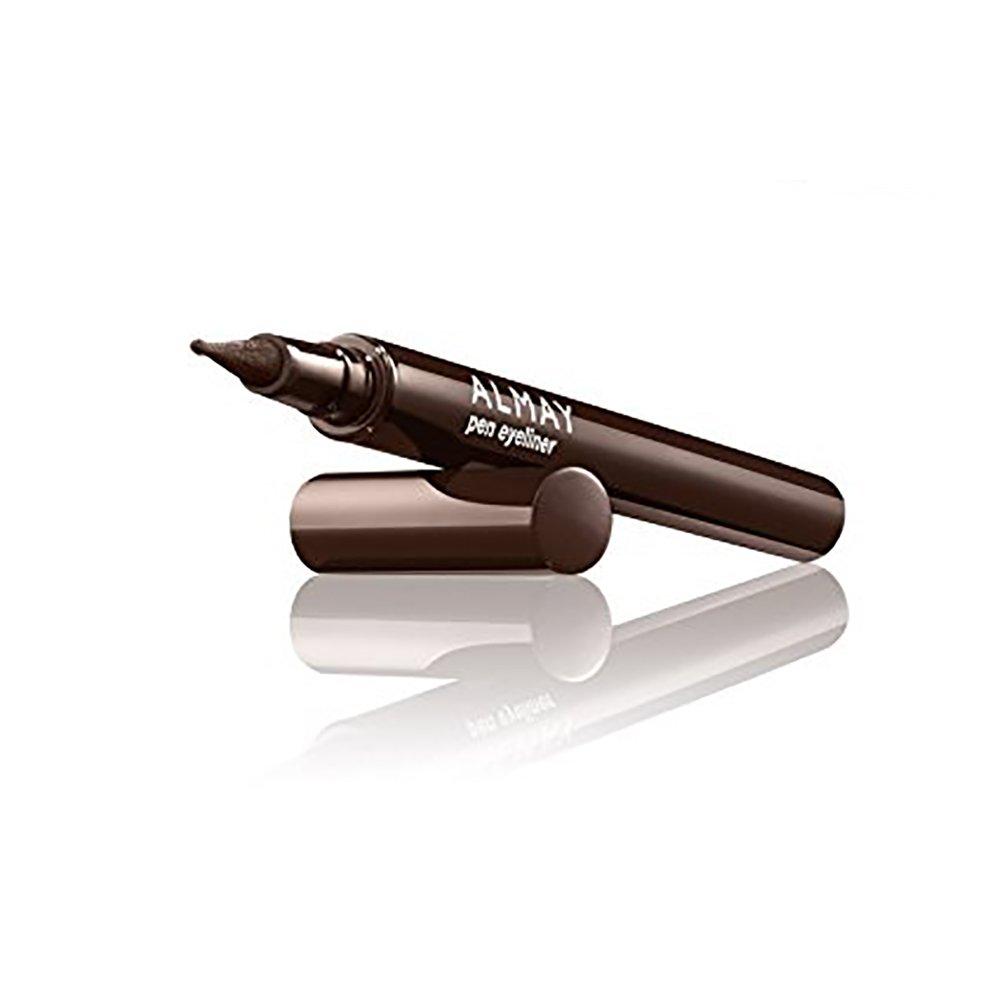 Almay Pen Eyeliner. Ball Point Tip. Liquid Liner Made Easy. BROWN 209 9640-02
