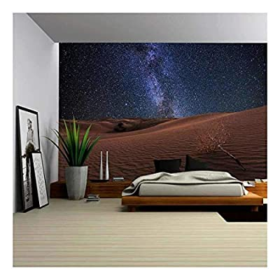 Amazing Views of The Gobi Desert Under The Night Starry Sky, Top Quality Design, Grand Craft