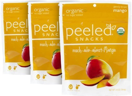 Peeled Snacks Much-ado-about-Mango Dried Fruit Snack - 2.8 oz - 3 pk
