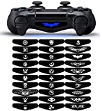 eXtremeRate® Light Bar Decal Stickers Set of 30 Different Pcs for PS4 Playstation 4 Controller - Mix Stickers from eXtremeRate®