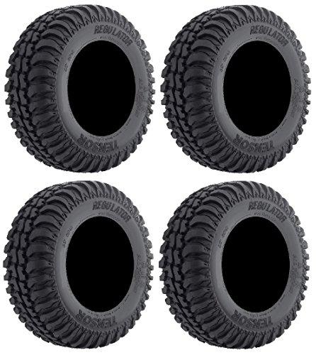Full set of Tensor Regulator A/T (8ply) 30x10-14 DOT ATV Tires (4)