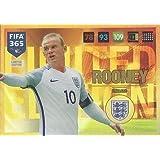 Panini FIFA 365 Adrenalyn XL 2017 Wanye Rooney Limited Edition Trading Card