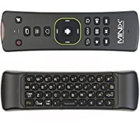MINIX NEO A2 Lite 2.4GHz Wireless QWERTY Keyboard Wireless Mouse TV BOX Remote Control For MINIX NEO Series TV BOX /HTPC /Amazon Fire TV/Samsung TV /Android TV Box /PC Media player /Gyroscope Games(On MINIX NEO) [By Authorized Dealer Also Popular]