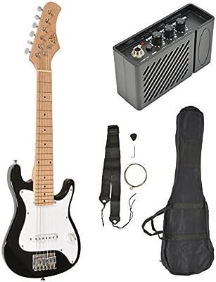 ts-ideen Guitarra Eléctrica con Amplificador Funda y Correo 4 - 8 Años