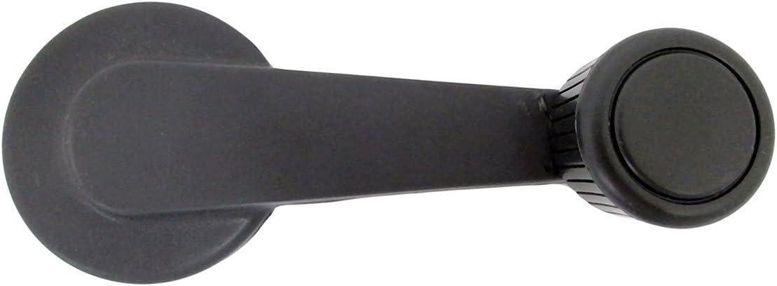 Dorman HD Solutions 775-5602 Window Crank Handle Front Left Or Right Dark Gray Handle With Dark Gray Knob