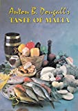 Front cover for the book A Taste of Malta by Anton B. Dougall