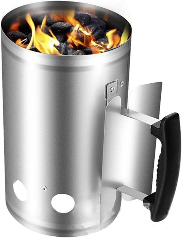 Incinerador Incinerador de gran jardín barbacoa de carbón encendido por barril, barril de la quema de hojas de papel, de madera parrilla exterior de la iluminación de la chimenea, la quema de