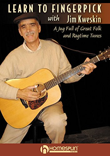 Learn to Fingerpick with Jim Kweskin - A Jug Full of Great Folk and Ragtime Tunes [Instant Access]