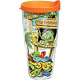 Tervis Tumbler Margaritaville Blew Out My Flip Flop Wrap 24oz with Travel Lid