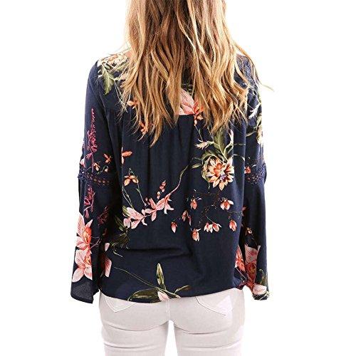 e48983636d3b iBaste Oberteil Damen Schulterfrei Batwing Shirt Blusen Tunika damen  Lockere Oberteile Tops