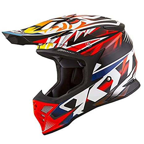 Amazon.es: KYT casco SkyHawk Temper Red - XL