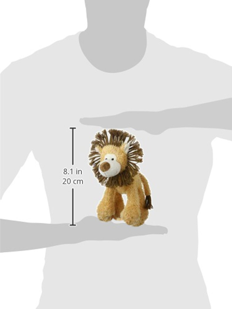 Multipet Mane Event 11-Inch Lion Plush Dog Toy