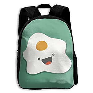 Cute Egg Pattern School Bag For 2-6 Years Old