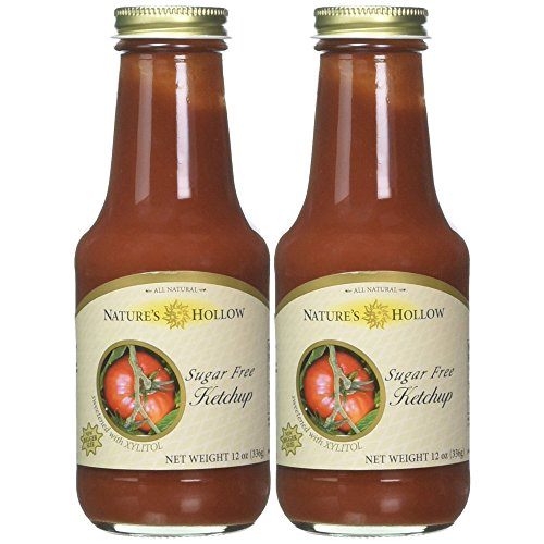 Nature's Hollow Sugar-Free Ketchup 2-pack, 12 Ounces Each