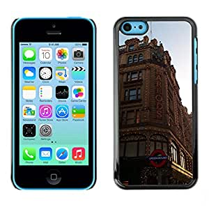 Hot Style Cell Phone PC Hard Case Cover // M00171336 London City Building Architecture // Apple iPhone 5C