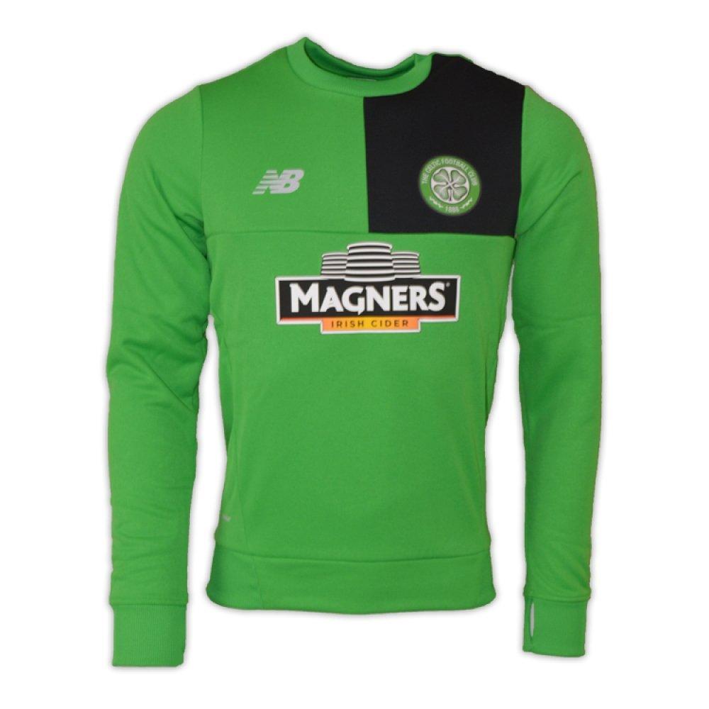 2016-2017 Celtic Training Sweat Top (Green) B01M7SJW9T Medium 38-40
