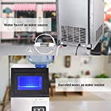 Yescom Portable Commercial Ice Maker Machine 300W