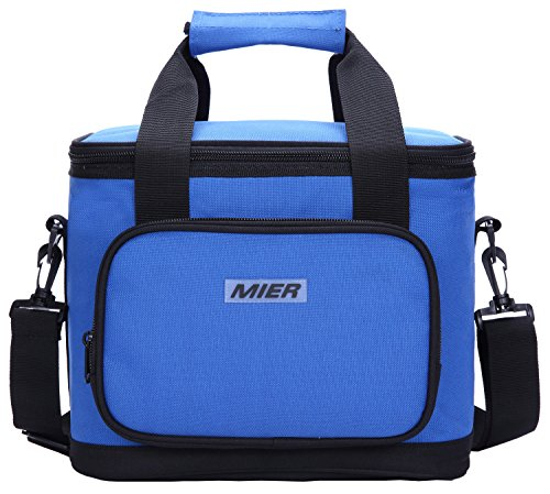 MIER 16 Can Large Insulated Lunch Bag for Women and Men, Sof