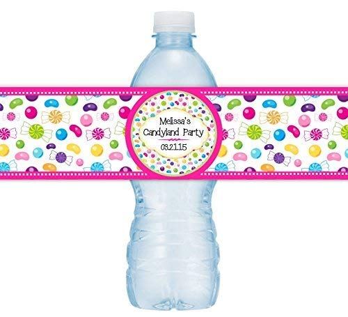 Candy Land Lollipop Stickers 36 Lollipop Birthday Labels
