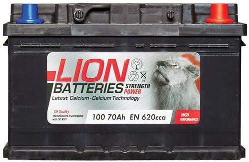 12V 70Ah CAR BATTERY TYPE 100 FITS MORE THAN ONE VECHICLE