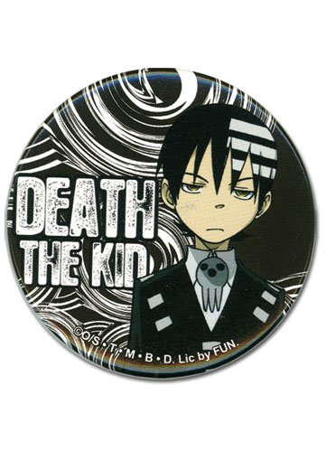(Great Eastern Entertainment Soul Eater Death The Kid Button)