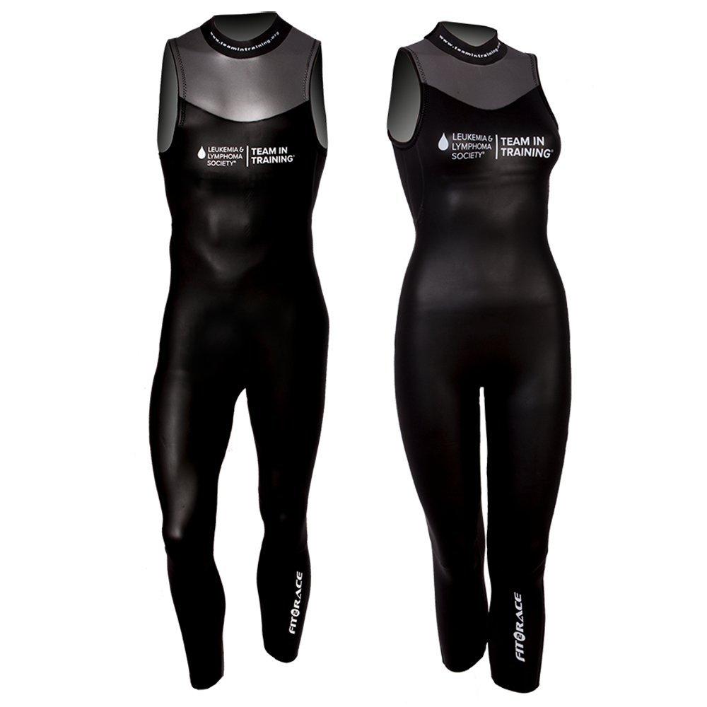 Fit2Race Sleeveless Triathlon Wetsuit - Team in Training/F2R Sockeye Unisex