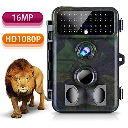 1080p 42 Lcd Display (Tvird Trail Camera 16MP 1080P Wildlife Camera Super Night Vision 2018 Newest Game Camera 125° Detecting Range and 66 FT Motion Activated with 2.4'' LCD Display IP 66 Waterproof Protected)