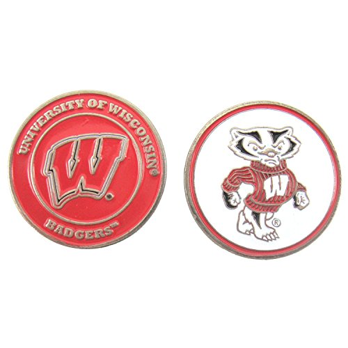 Golf Ball Marker - NCAA - Wisconsin Badgers