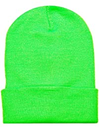 2040USA Unisex Plain 12 inch Long Beanie - Many Colors