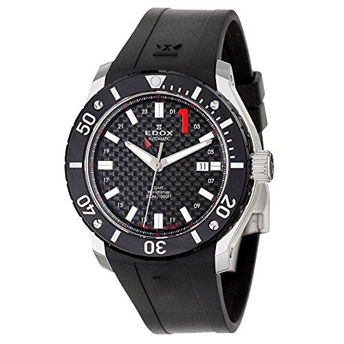 Edox Class 1 GMT Worldtimer Reloj Automático para Hombre 93005 – 3-NIN