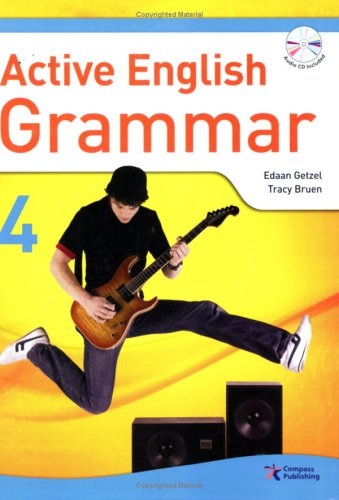 Active English Grammar 4 (w/Transcripts, Answer Key, and Audio CD)