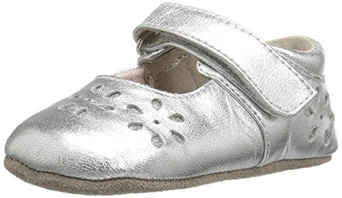 - See Kai Run Girls' Ginger II Silver Mary Jane, Small/0-6 Months M US Infant