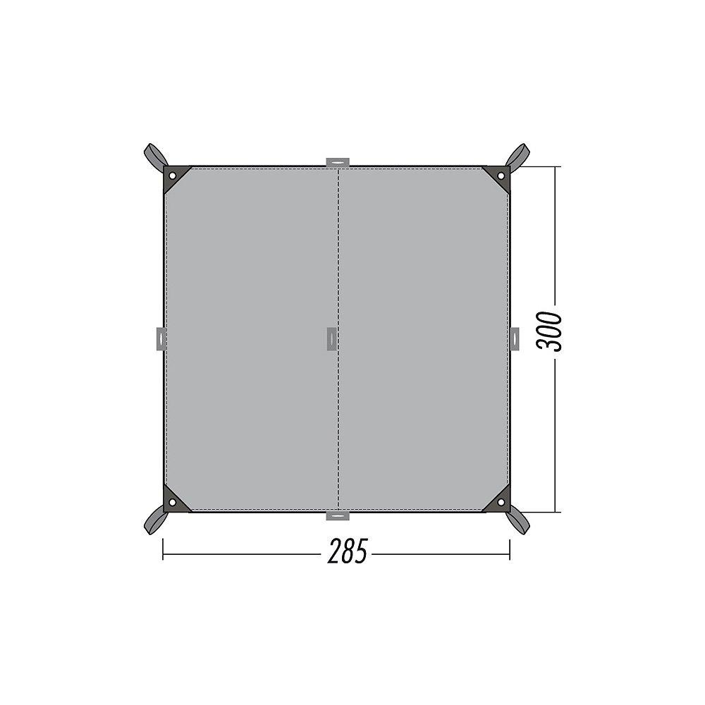 Tatonka Tarp 2 Simple - 285x300cm - Zeltplane