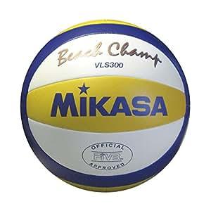 Mikasa VLS300 - Balón cosido, color amarillo / azul, tamaño 5
